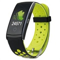 Ksix Fitness Band HR 2 Waterproof Activity Tracker - Green / Black