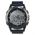 Ksix Fitness Explorer 2 Waterproof Smartwatch - Black / Blue