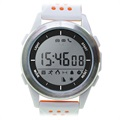 Ksix Fitness Explorer 2 Waterproof Smartwatch - White / Orange