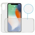 iPhone X / iPhone XS Ksix Flex 360 Protection TPU Cover - Transparent