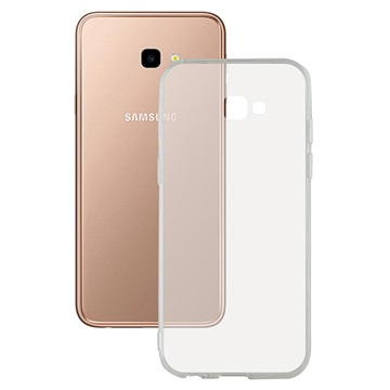 Ksix Flex Ultrathin Samsung Galaxy J4+ TPU Case - Transparent