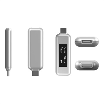 LMP USB-C Power Tester Multimeter - Silver