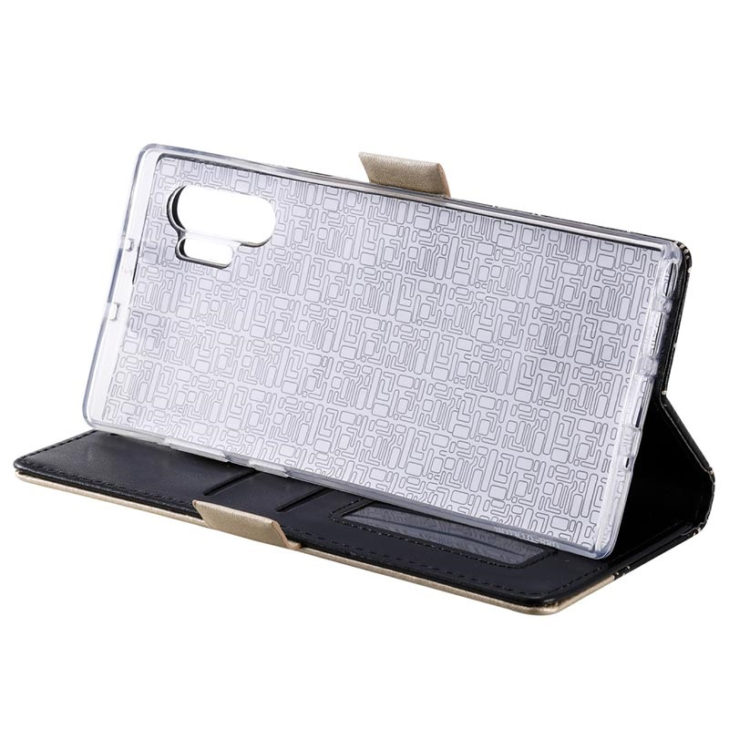 Lace Pattern Samsung Galaxy Note10+ Wallet Case