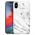 Laut Huex Elements iPhone XS Max TPU Case - White Marble