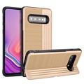 Layered Kickstand Samsung Galaxy S10 Hybrid Case