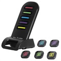 Lenuo Remote Wireless Key Finder with LED Light - Black