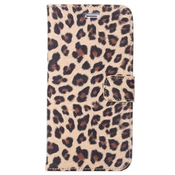 iPhone 6 Plus / 6S Plus Wallet Leather Case - Leopard