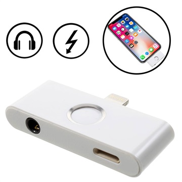 promo code 85533 7f2a9 iPhone X Lightning & 3.5mm Audio Adapter with Home Button