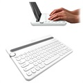 Logitech K480 Bluetooth Multi-Device Keyboard - Nordic Layout - White