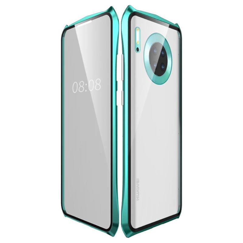 Luphie Huawei Mate 30 Pro Tempered Glass Magnetic Case