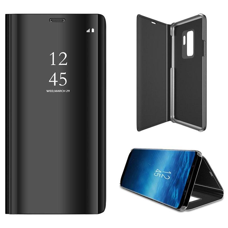 hot sale online 5f02f 36a07 Luxury Series Mirror View Samsung Galaxy S9+ Flip Case
