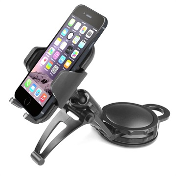Macally DMOUNT Dash Mount Universal Car Holder - Black