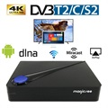 Magicsee C300 Pro 4K Android TV Box with DVB-T2/C/S2