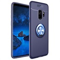 Samsung Galaxy S9 Magnetic Ring Holder Case - Blue