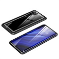 Huawei P30 Pro Case with Tempered Glass Back - Black