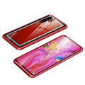 Huawei P30 Pro Case with Tempered Glass Back - Red