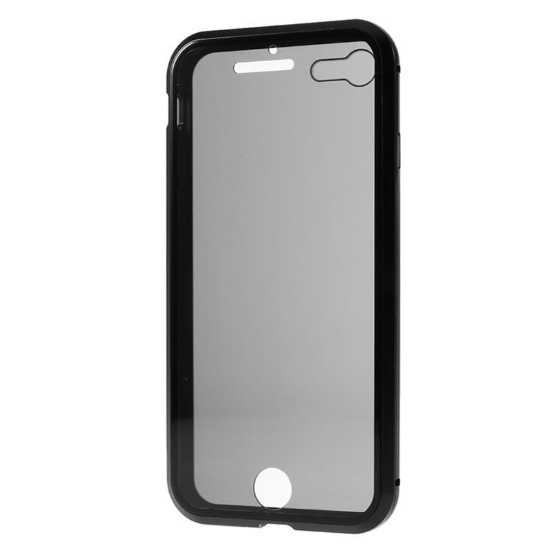 iPhone 7/8/SE (2020) Magnetic Case with Tempered Glass