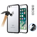 iPhone 6/6S Magnetic Case with Tempered Glass Back - Black