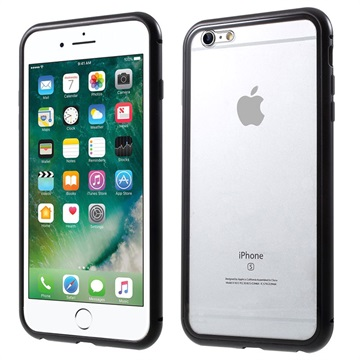 iPhone 6 Plus/6S Plus Magnetic Case with Tempered Glass Back