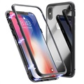 iPhone X Magnetic Case with Tempered Glass Back