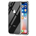 iPhone X Magnetic Case with Tempered Glass Back - Grey