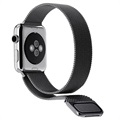 Apple Watch Series 4/3/2/1 Magnetic Milanese Strap - 44mm, 42mm - Black