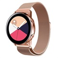 Samsung Galaxy Watch Active Magnetic Milanese Strap - Rose Gold
