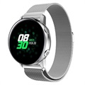 Samsung Galaxy Watch Active Magnetic Milanese Strap - Silver