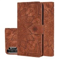 Mandala Series Samsung Galaxy Note10+ Wallet Case - Brown
