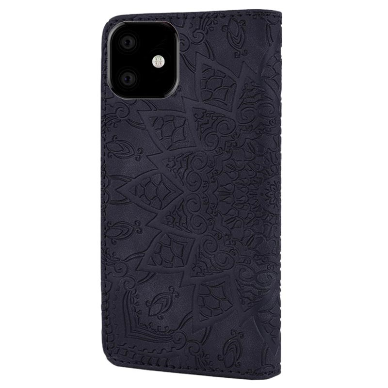 Mandala Series iPhone 11 Wallet Case with Stand