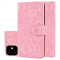 Mandala Series iPhone 11 Wallet Case with Stand - Pink