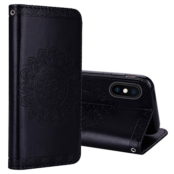 Mandala Series iPhone XS Max Wallet Case