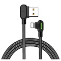 Mcdodo Night Elves 90-degree Lightning Cable - 1.8m - Titanium Black