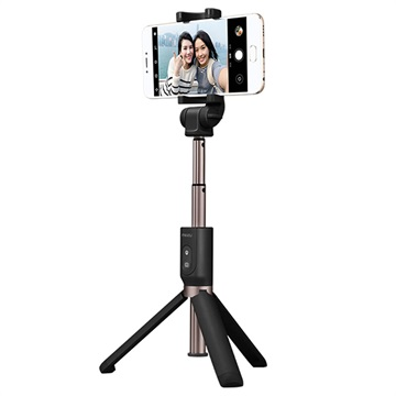 Meizu Bluetooth Selfie Stick with Tripod Stand - Black