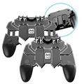 Memo AK66 Universal Adjustable Mobile Gamepad - Black