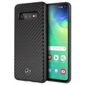 Mercedes-Benz Dynamic Line Samsung Galaxy S10 Case - Carbon Fiber - Black