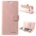 Mercury Goospery Blue Moon Samsung Galaxy S10 Wallet Case - Rose Gold