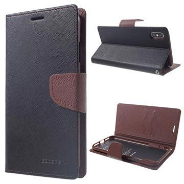 finest selection 38902 cf090 Mercury Goospery Fancy Diary iPhone XS Max Wallet Case