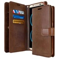 Samsung Galaxy S8 Mercury Goospery Mansoor Diary Wallet Case - Brown