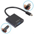 Mini DisplayPort to VGA Adapter Cable - Black