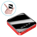 Mini Fast Power Bank 10000mAh - 2x USB - Red