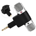Mini Portable Microphone for Smartphones and Tablets - 3.5mm