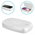 Momax Q.Power UV-Box Sterilizer & Wireless Charger - 10W - White
