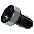 Momax UC10 Fast Car Charger - USB-C PD, QC3.0 - 36W