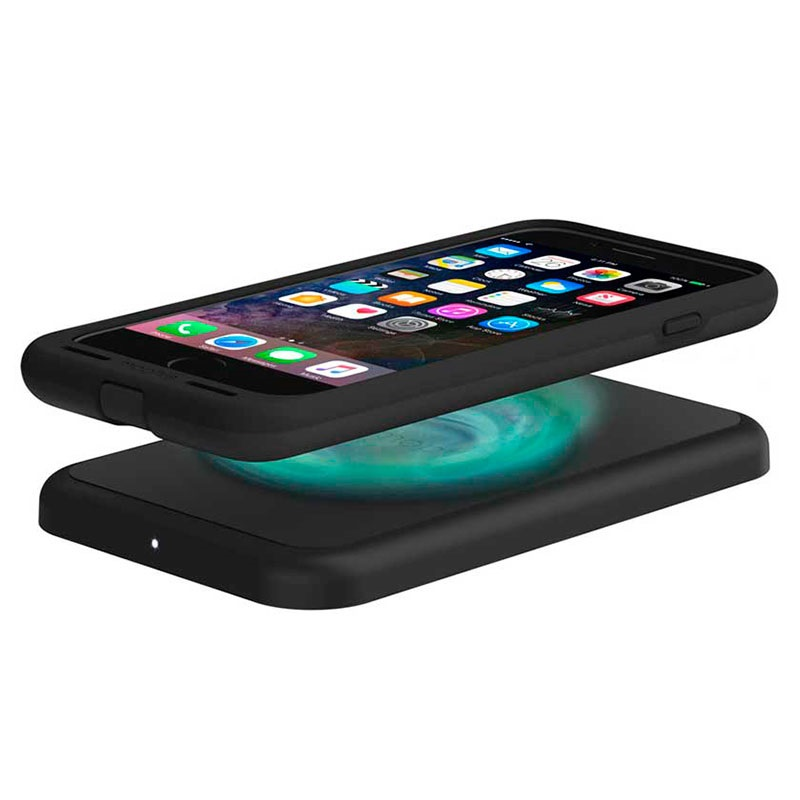 iphone 7 plus mophie charge force wireless charging case. Black Bedroom Furniture Sets. Home Design Ideas