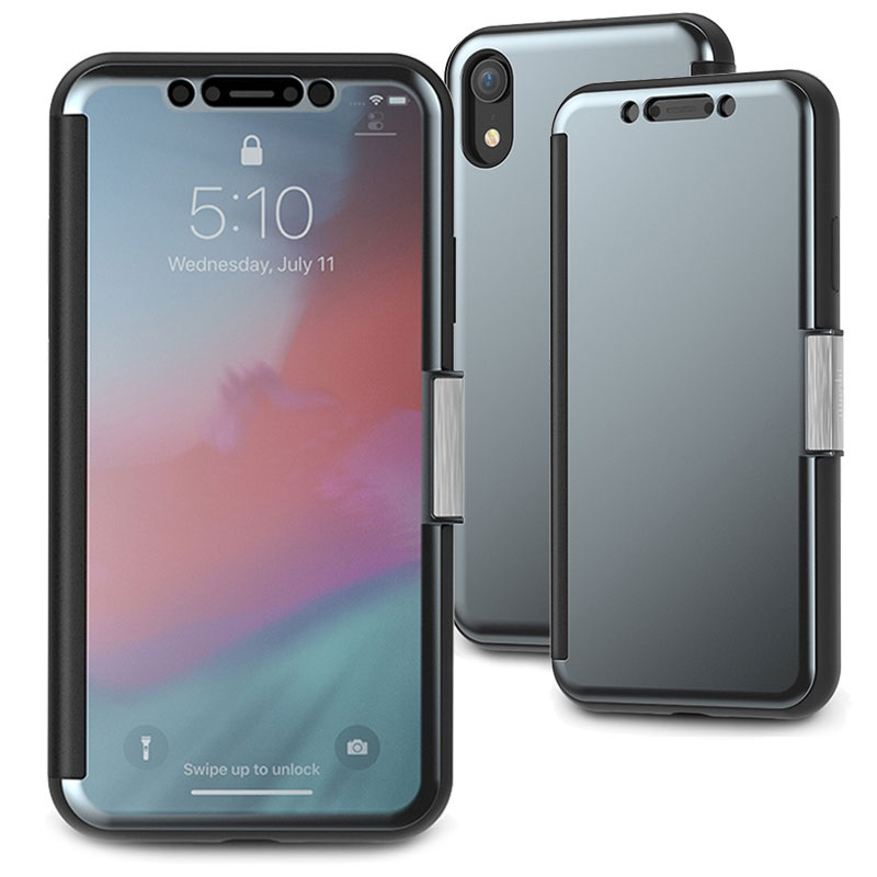 sale retailer c6103 a8b7d Moshi StealthCover iPhone XR Flip Case