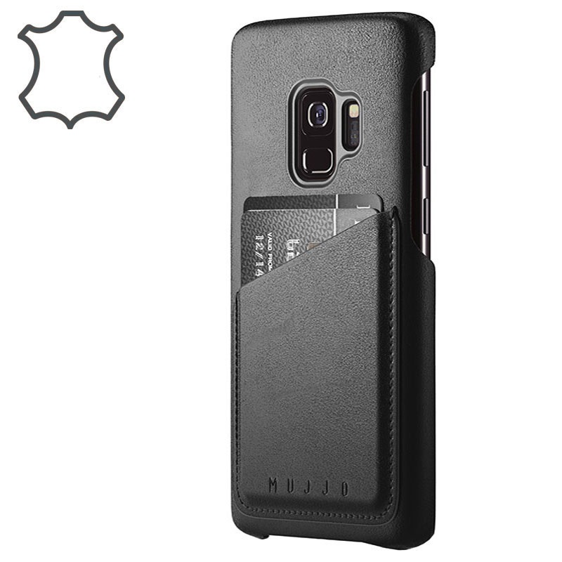 Samsung Galaxy S9 Mujjo Wallet Leather Cover