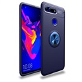 Honor View 20 Magnetic Ring Grip Case - Blue