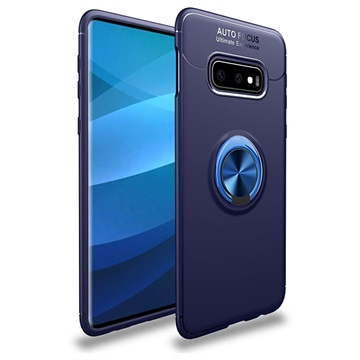 Samsung Galaxy S10+ Magnetic Ring Grip Case - Blue
