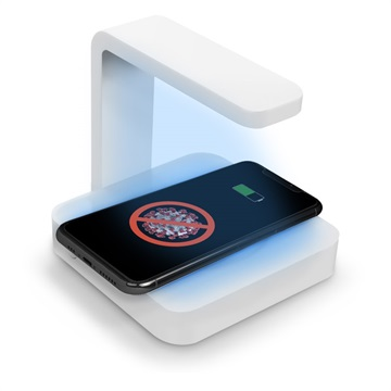 Multifunctional UV Sterilizer with Wireless Charger - 10W
